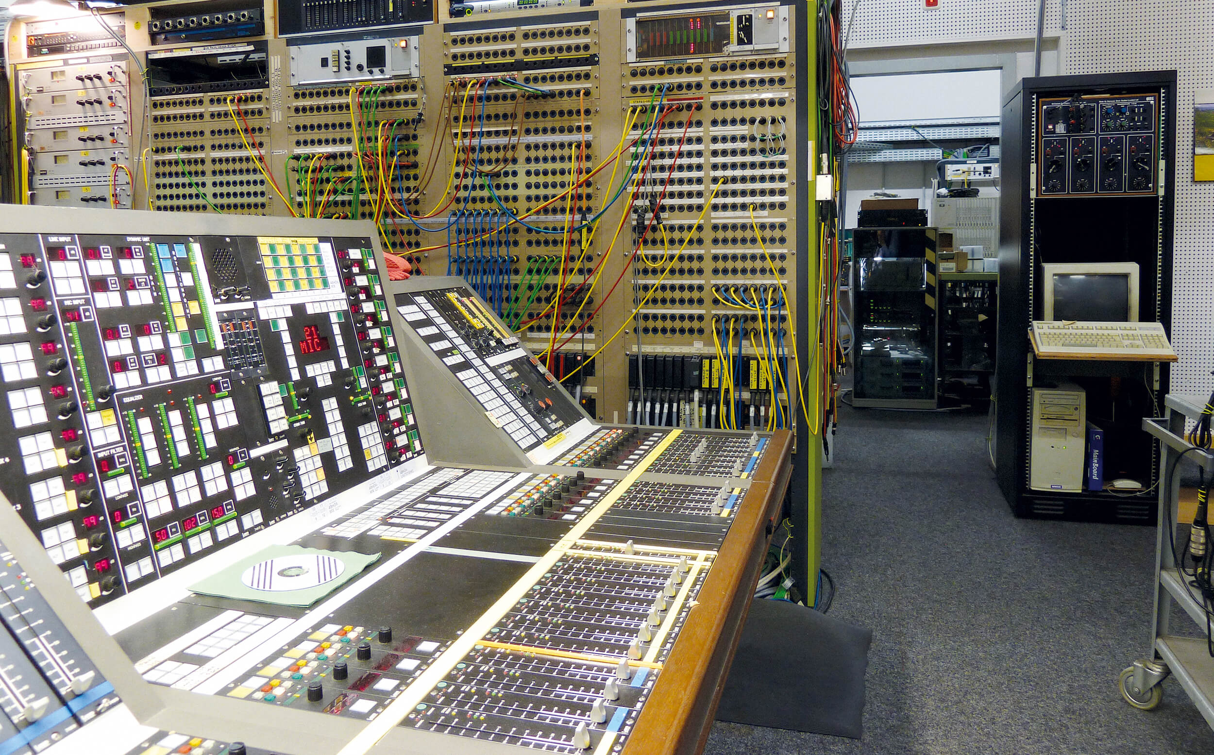 Studio for electronic music at WDR, Cologne